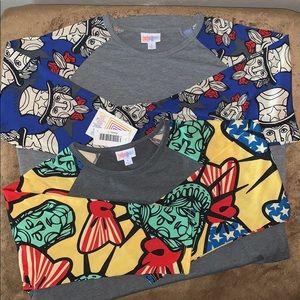 Bundle of 2 New LulaRoe Randy shirts
